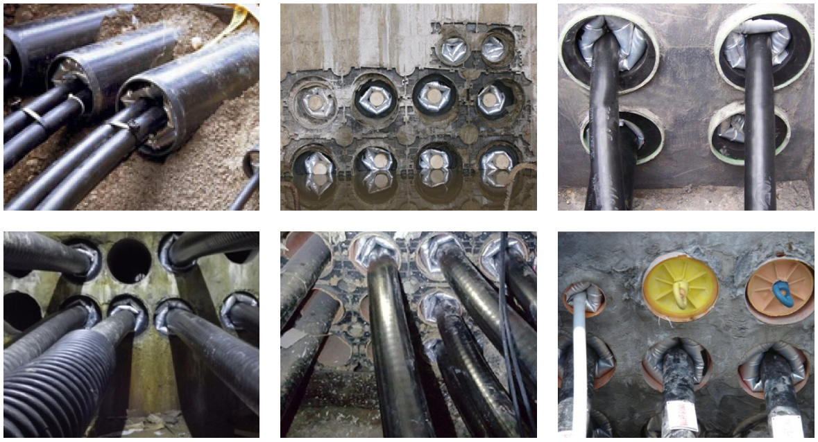 Inflatable Duct Cable Sealing System ( IDSS ) Applications